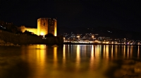 Aanya Kızıl Kulesi Gece Görünümü....