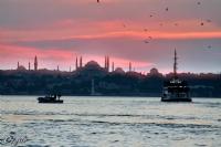Kadıköy'de Günbatımı