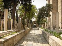 Süleymaniye Camisi Giriş Yolu