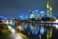 Frankfurt Main'de Akşam