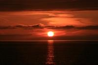 Karadeniz De Gün Batımı