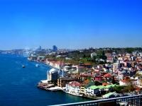 Köprüden İstanbul Görüntüsü