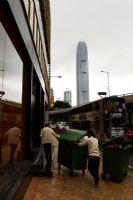 Hong Kong'ta Çöpçüler