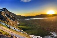 Nemrut Krater Gölü'nde Gün Batımı