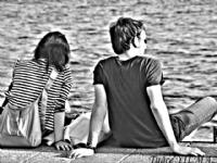 Beşiktaş Sahilinde Aşk