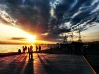 Selanik'de Günbatımı..