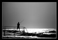 Bir Olta Bir Deniz Bir Adam - Foto�raf: Birol Yucel