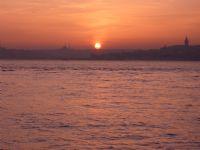 Gün Batımı Ve İstanbul