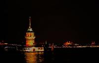 Gece Kız Kulesi Ve İstanbul
