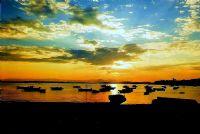 Ildır'da Günbatımı