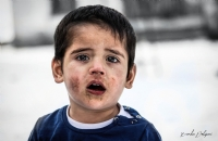 Savaşın çocukları  - Fotoğraf: Berkan Dolapcı