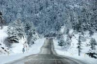 Yoldan Kar Manzaraları