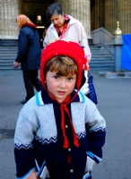 St.Petersburg - Dilenci Çocuk Ve Babannesi