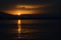 Batarken Ufukta, Bir Akşam Güneşi....