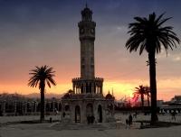 Güzel İzmir'de Gün Batarken