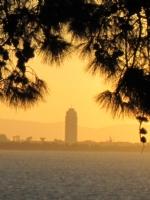 İzmir'de Gün Batımı .