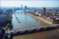 Londra'ya Tepeden Bakış..