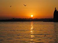 İstanbulda İlk Günbatımı