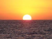 Van Gölünde Gün Batımı