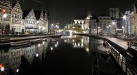 Gent Gece Manzarası