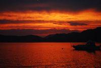 Yanan Dağ,deniz