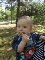 Piknikte Çocuk.