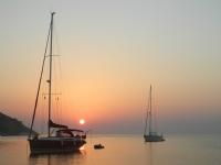 Leros Adas�nda Tekneler
