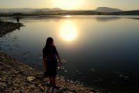 Gün Batımında Sarıyar Barajı