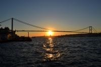 'istanbul'da Gün Batımı'