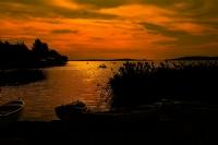 Gölyazı Da Güne Veda...