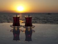 Deniz,günbatımı Ve Çaylaaar...