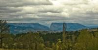 Dağ Kanyon Manzara