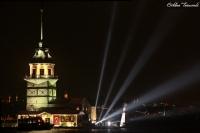 29 Ekim Lazerli Kız Kulesi