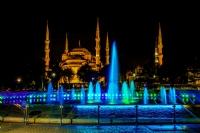 Sultanahmet Camii Gece