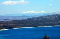 Tepeden Salda Gölü