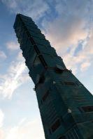 Taipei 101 Ve Günbatımı