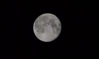 İlk Ay Fotosu Denemem