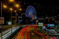 İzmit'te Uzun Pozlama Gece Manzarası