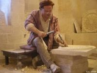 Mardin'de Taş Oymalıcığı Ustası