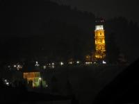 Yeşil Camiden Bursa Saat Kulesi