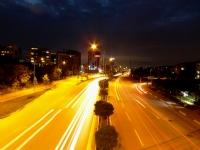 Işıklar...Arabalar Ve Şehir