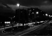 Hayali Şehrin Siyah Beyaz Sokakları