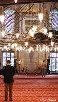 Sultanahmet'de Namaz Vakti