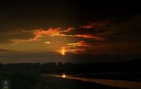 Meriç Nehri Gün Batımı