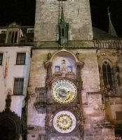 Astronomıcal Clock - Iıı (at Night)