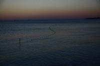 Sakin Bir Deniz Akşam Üzeri Hafif Rüzgar