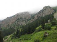 Uzungöl Tepelerinden. Bir Görünüm