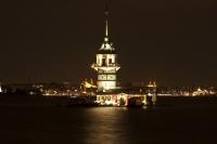 Kız Kulesi Gece Manzarası