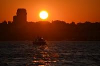 'istanbul'da Akşam Güneşi'