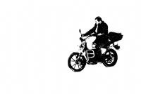 Motosikletli Adam